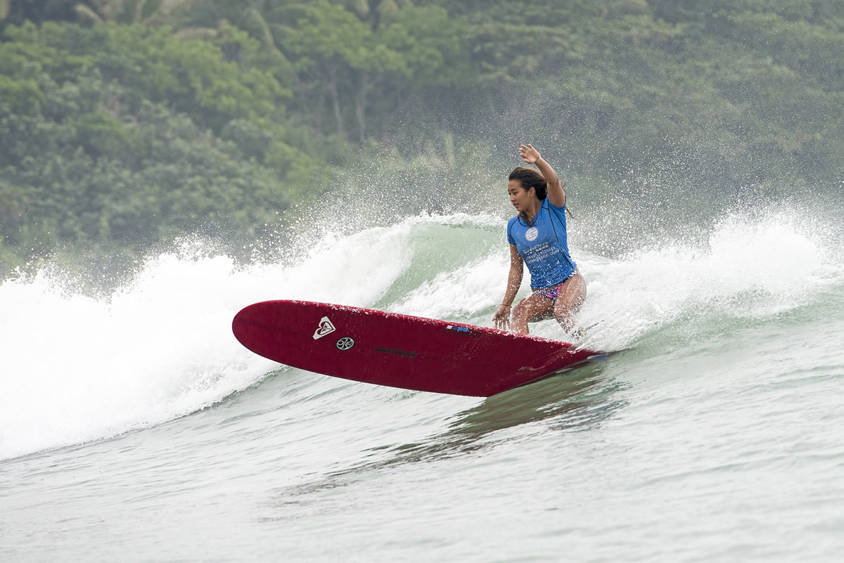 Moniz Cutting back in 2013. Will she return to former glory at Riyue Bay? Pic: WSL/Will H-S